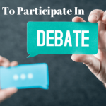 How To Participate In A Debate